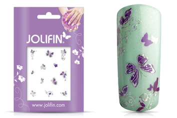 Jolifin Silver Glam Sticker 9