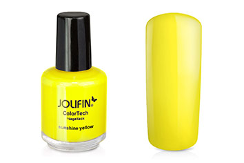 Jolifin ColorTech Nagellack sunshine yellow 14ml