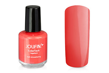 Jolifin ColorTech Nagellack red strawberry 14ml