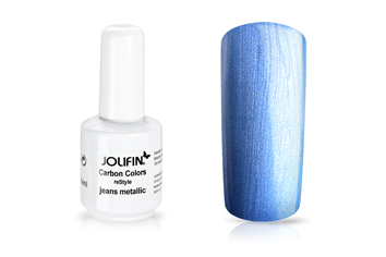 Jolifin Carbon reStyle - jeans metallic 14ml