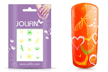 Jolifin Neon Sticker 2
