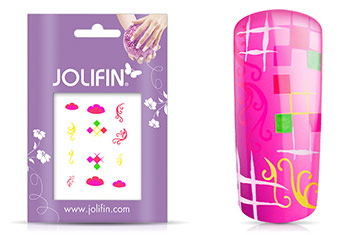 Jolifin Neon Sticker 6