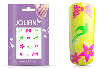 Jolifin Neon Sticker 7