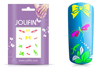 Jolifin Neon Sticker 8