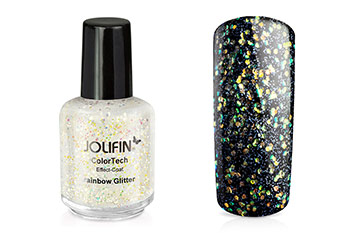 Jolifin ColorTech Effect-Coat rainbow Glitter 14ml