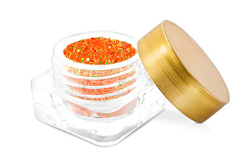 Jolifin Wild Neon Glitter orange