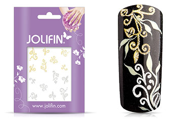 Jolifin Glitter Nailart Sticker 48