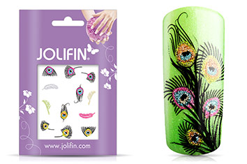 Jolifin Glitter Nailart Sticker 49