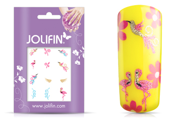 Jolifin Glitter Nailart Sticker 56