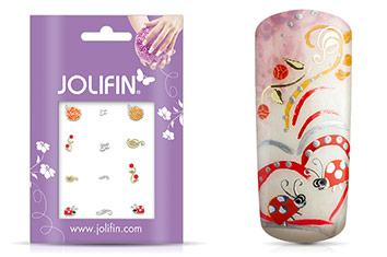 Jolifin Nailart Autumn Sticker 6