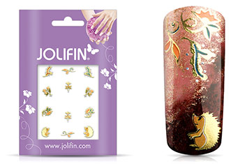 Jolifin Nailart Autumn Sticker 12