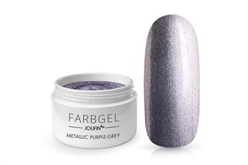 Jolifin Farbgel metallic purple-grey 5ml