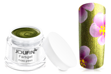 Jolifin Farbgel moss green 5ml