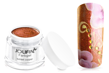 Jolifin Farbgel copper sunset 5ml