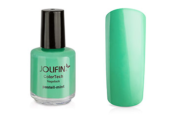 Jolifin ColorTech Nagellack pastell-mint 14ml