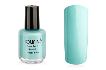 Jolifin ColorTech Nagellack pastell-blue 14ml