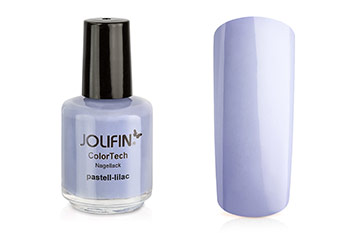 Jolifin ColorTech Nagellack pastell-lilac 14ml