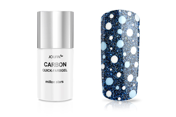 Jolifin Carbon Colors UV-Nagellack million stars 14ml