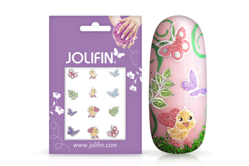 Jolifin Nailart Ostersticker Nr. 4