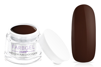 Jolifin Wetlook Farbgel pure-chocolate 5ml