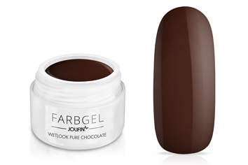 Jolifin Wetlook Farbgel pure-chocolate 5ml