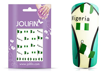 Jolifin WM 2014 Tattoo Nigeria