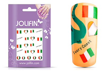 Jolifin WM 2014 Tattoo Ivory Coast