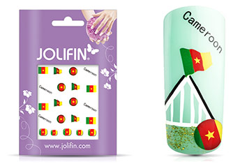 Jolifin WM 2014 Tattoo Cameroon