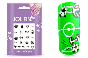 Jolifin WM Tattoo Football
