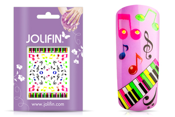 Jolifin Neon Sticker 19