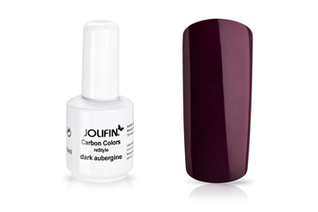 Jolifin Carbon reStyle - dark aubergine 11ml