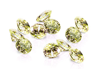 Jolifin Diamonds green 3mm