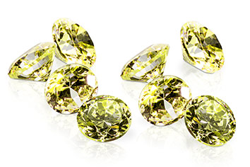 Jolifin Diamonds green 4mm