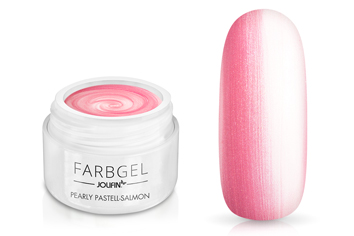 Jolifin Farbgel pearly pastell-salmon 5ml