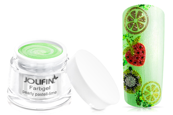 Farbgel pearly pastell-lime 5ml