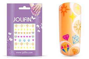 Jolifin Neon Tattoo 1