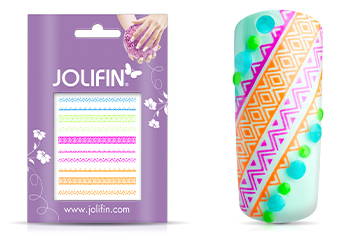 Jolifin Neon Tattoo 8