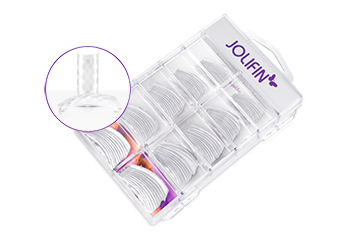 Jolifin 100er Tipbox Diamond Tips clear