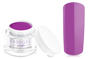 Jolifin Wetlook Farbgel deep magenta 5ml
