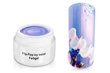 Farbgel Flip-Flop icy water 5ml