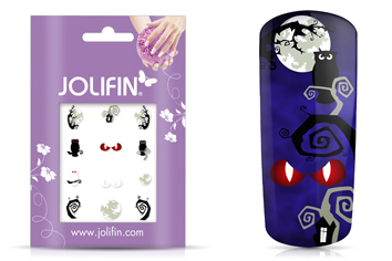 Jolifin Nightshine Halloween Tattoo 4