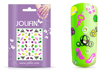 Jolifin Neon Sticker 25