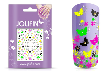 Jolifin Neon Sticker 26