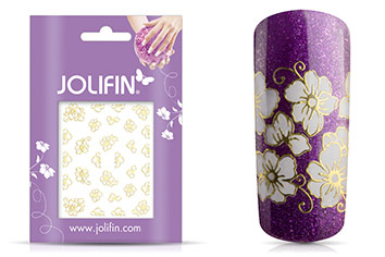 Jolifin Golden Glam Sticker 3