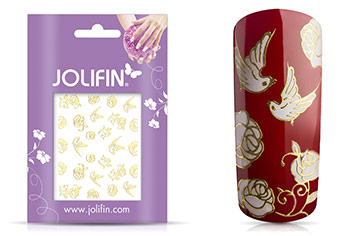 Jolifin Golden Glam Sticker 4