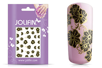 Jolifin Golden Glam Sticker 5