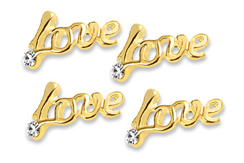 Jolifin Overlay Love gold