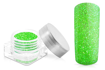Jolifin Glitterpuder green apple