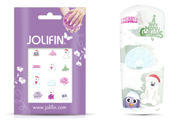 Jolifin Christmas Glitter Tattoo 5