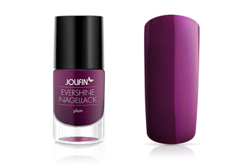 Jolifin EverShine Nagellack plum 9ml